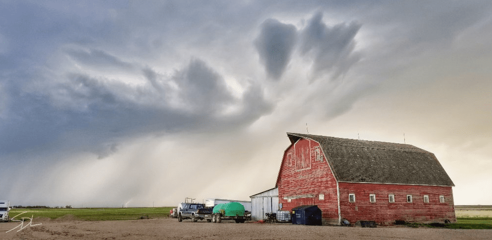 Barn Clouds Saskatchewan Storms